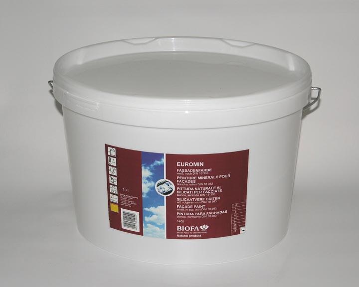 biofa b1405 85 hvid 10 liter facademaling dghus. Black Bedroom Furniture Sets. Home Design Ideas